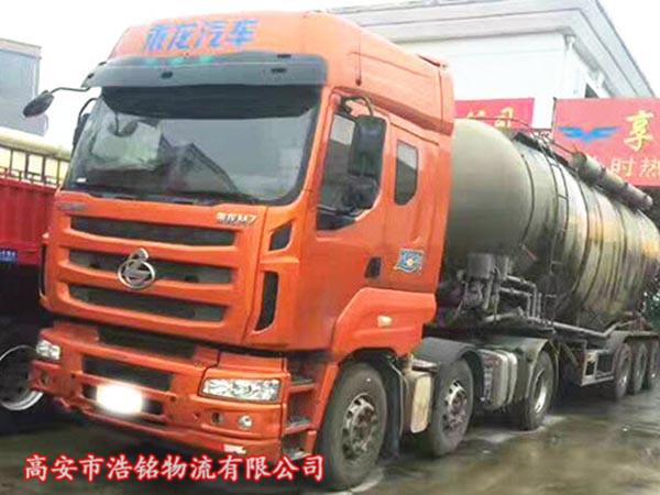 乘龙M7罐装车,400马力,创富版